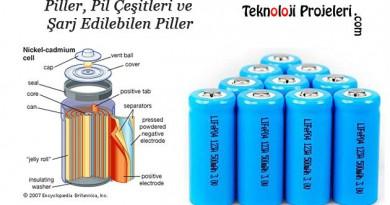 Piller-Pil-cesitleri