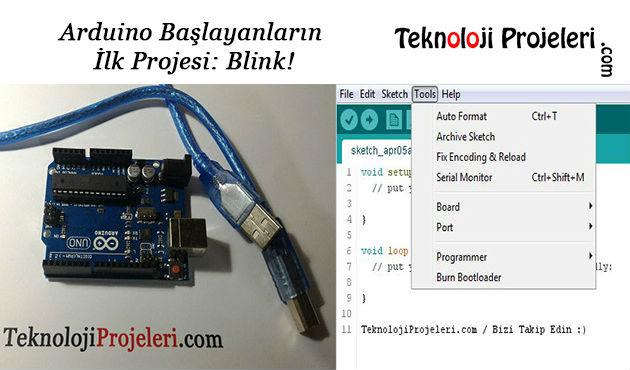 Arduino-İlk-projesi-Blink