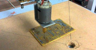 Mini CNC Delici Sistemi Yapımı