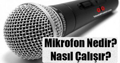 Mikrofon Nedir? Nasıl Çalışır?