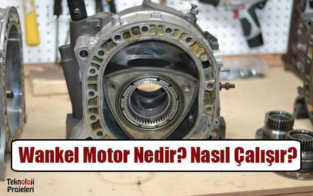 Wankel Motoru Nedir Nas L Al R Teknoloji Projeleri
