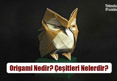 Origami Nedir? Çeşitleri Nelerdir?