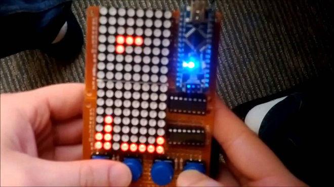 Arduino tetris projesi teknoloji projeleri