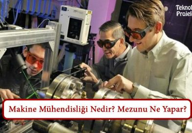 Makine Mühendisliği Nedir? Mezunu Ne Yapar? Çalışma Alanları Nelerdir?