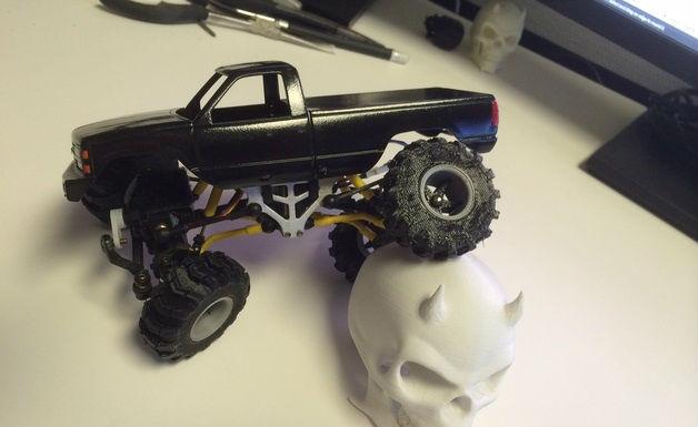 Arduino araba Şasesi d baskı teknoloji projeleri