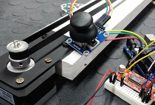 Step motor sürme uygulaması arduino projeleri