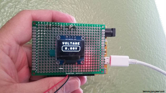 Basit Voltmetre Yapımı Make A Simple Voltmeter Teknoloji Projeleri