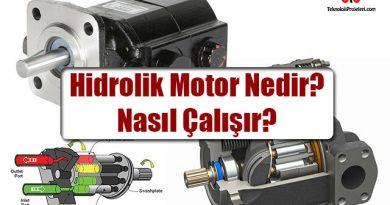 Hidrolik Motor Nedir? Nasıl Çalışır?
