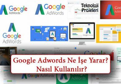Google Adwords Nedir? Ne İşe Yarar? Nasıl Kullanılır?