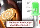 LED Nedir? Nasıl Çalışır? Ne İşe Yarar? Özellikleri ve Çeşitleri