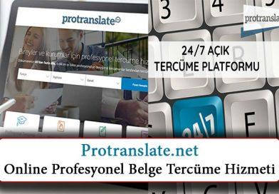 Protranslate.net: Yeni Nesil Online Profesyonel Belge Tercüme Hizmeti