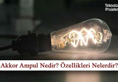 Akkor Ampul Nedir? Özellikleri ve Çeşitleri Nelerdir?