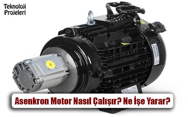 Asenkron Motor Nedir? Nasıl Çalışır? Ne İşe Yarar?