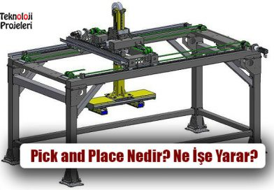 Otomasyon Pick and Place Nedir? Ne İşe Yarar?