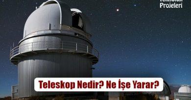 Teleskop Nedir? Ne İşe Yarar? Çeşitleri Nelerdir?