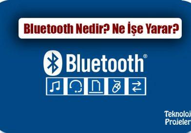 Bluetooth Nedir? Ne İşe Yarar? Nerelerde Kullanılır?
