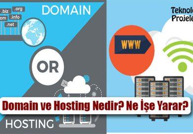 Domain ve Hosting Nedir? Ne İşe Yarar? Nasıl Alınır?