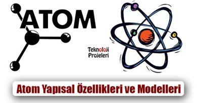 Atom Nedir? Yapısal Özellikleri ve Modelleri Nelerdir?
